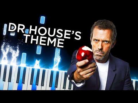 Dr House (Main Theme) - Piano Tutorial