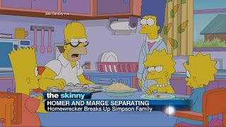 Homer and Marge Separate