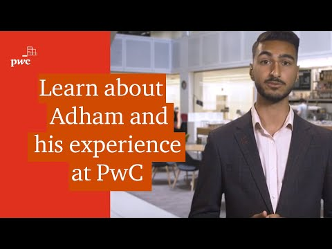 What's it like being a school or college leaver at PwC? Adham can tell you