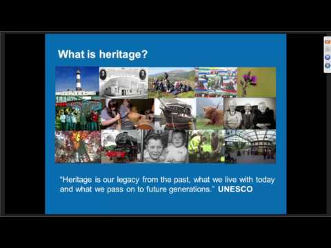 Webinar - Community Assets: Historic and Heritage projects