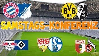 Bundesliga 20.Spieltag - Samstagskonferenz - FIFA 18 Prognose 17/18