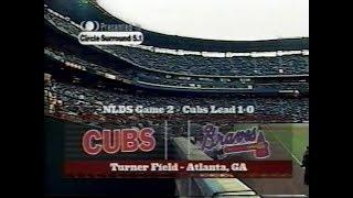 2003 NLDS Game 2 - Cubs at Braves - Wednesday, October 1, 2003 - ESPN
