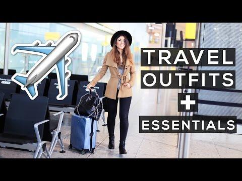 Travel Outfits + Travel Essentials | Mimi Ikonn