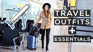 Travel Outfits + Travel Essentials | Mimi Ikonn