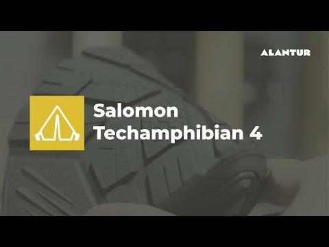 Лучшая летняя обувь для туризма и города Salomon Techamphibian 4
