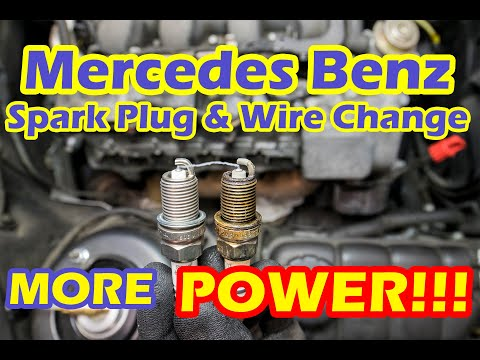 How To Change Replace Mercedes Benz Spark Plugs And Ignition Wires – Mercedes Benz S Class S500 W220