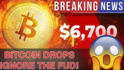Bitcoin Price Drops But Don't Be Afraid Crypto Will Rise Again!