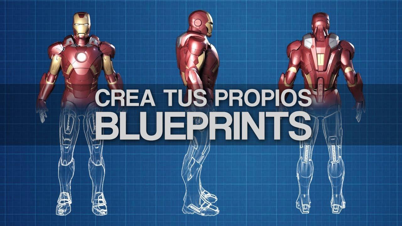 Adobe photoshop como crear efecto blueprints youtube malvernweather Choice Image