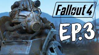Fallout 4 - Напал на Рейдеров БОЛЬ 3