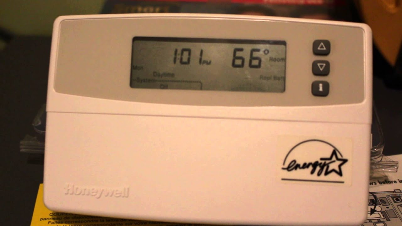Honeywell Thermostat Model