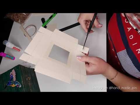 Как сделать коробку для капкейков самому