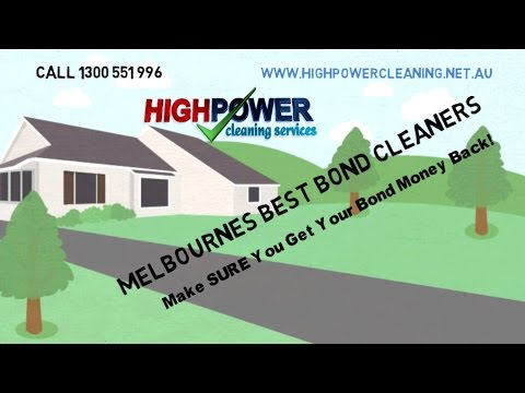 Melbourne Bond Cleaning Services