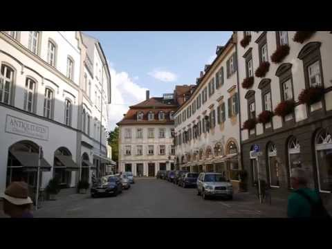 D: Bamberg. Bavaria. Germany. Impressions from the City Center. August 2015