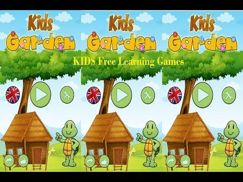Kids garden animal learning app games for kids