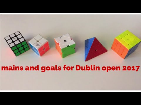 MAINS AND GOALS FOR DUBLIN OPEN 2017