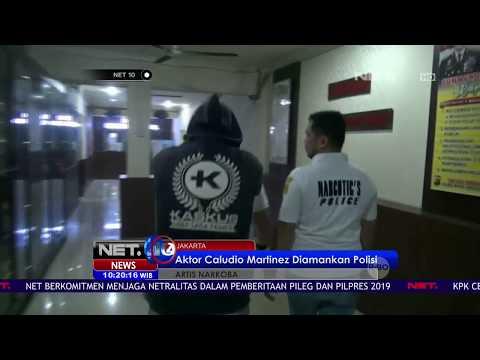 Aktor Caludio Martinez Ditangkap Polisi Akibat Mengonsumsi Narkoba   NET10 Mp3