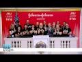 Johnson & Johnson Innovation Rings the NYSE Closing Bell