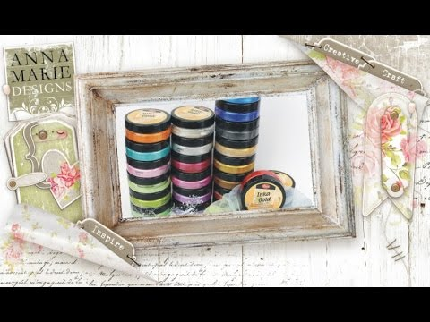 Creative Craft - Inka Gold colouring Hints & Tips Introduction.