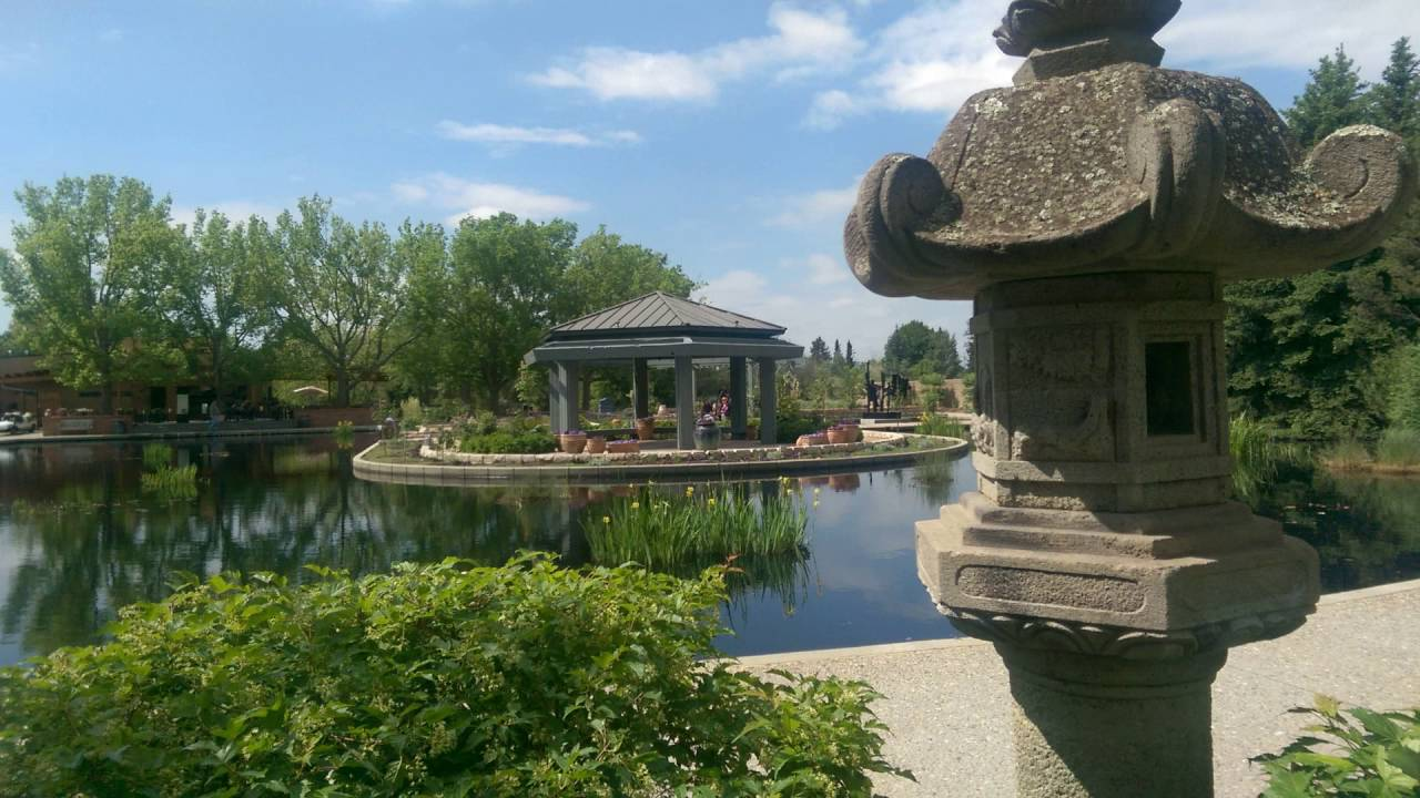 Denver Botanic Gardens, York Street, Denver, Colorado, 26 May 2016