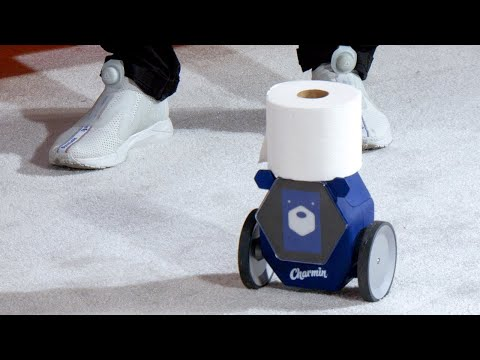 Tom Travis - Charmin Has Made A Robot To Help With Your TP Problems