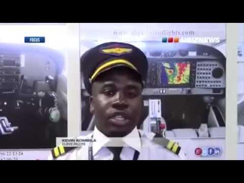 Gabon : Portrait de Kevin Kombila un pilote de 20 ans