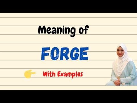 Daily vocabulary | Forge Meaning | Vocabgram