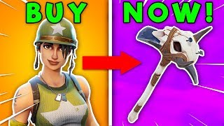 10 SEASON 1 ITEMS You Can PURCHASE RIGHT NOW! (Fortnite Battle Royale)