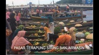 Pasar Terapung Siring Banjarmasin