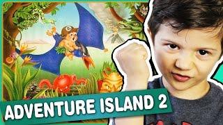 ADVENTURE ISLAND 2 - NES - Gameplay Comentado em Português
