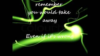 The All American Rejects-Out the Door Lyrics