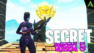 THE TOWER IS * SECRET LOCATION * FOR WEEK 5 IN FORTNITE!