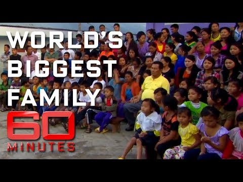 The world's biggest family | 60 Minutes Australia
