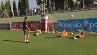 VALENCİA (CANİZARES) KALECİ ANTRENMANI  Goalkeeping warm up
