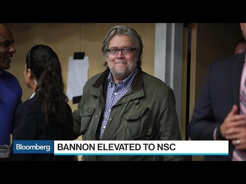 Trump Elevates Bannon to National Security Council