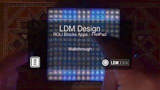 LDM ROLI FretPad - ROLI Blocks Apps By LDM Design