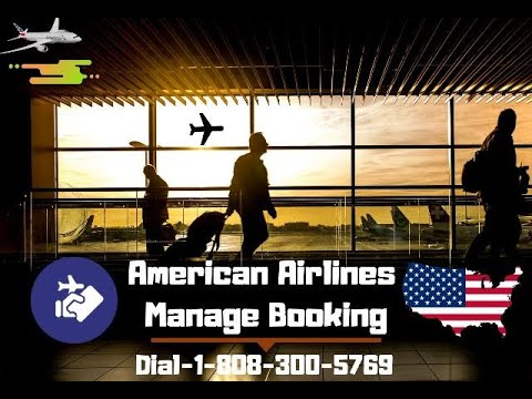 American Airlines Manage Booking | Manage Tickets Reservations