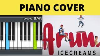 Arun Ice Cream Theme on Piano by Talent.Nav