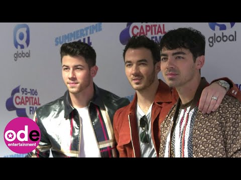 Capital Summertime Ball: Jonas Brothers arrive backstage