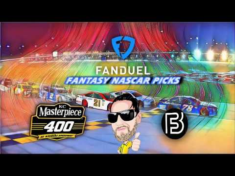 Fantasy NASCAR - 2018 KC Masterpiece 400 Fanduel Picks