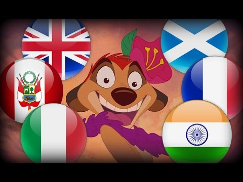Disney songs in their native languages #2