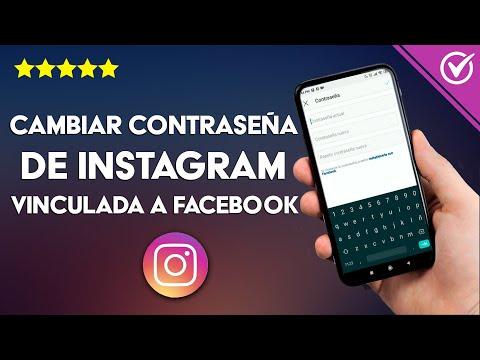 Cómo Cambiar la Contraseña de Instagram si la Olvidé, si está Vinculada a Facebook