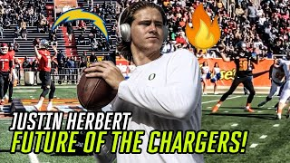 Justin Herbert Is The New Face Of The LOS ANGELES CHARGERS! Oregon Star Is READY For The NFL 🔥