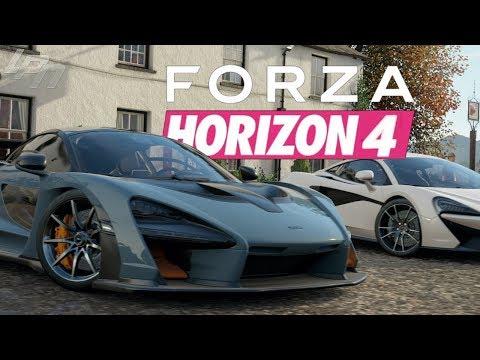 FORZA HORIZON 4 - Das erste Mal gespielt / Mein Ersteindruck!