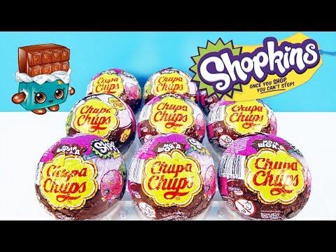ШОПКИНС Чупа Чупс! Новая серия игрушки мультик Shopkins 2018! Unboxing NEW Surprise Eggs Chupa Chups