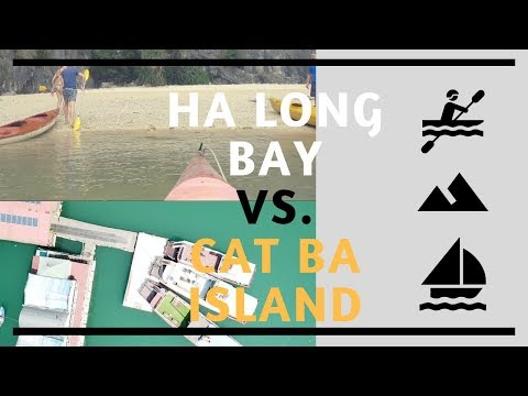 Ha Long Vs  Cat Ba Island Travel   Lovelivexplore