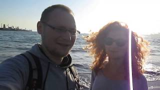 Так всё начиналось. Мы на Тихом океане. Long Beach, CA