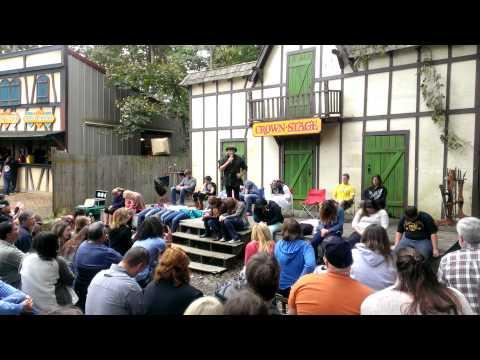 Rennaisance Festival: Hypnotist Rick Stratton Part 1