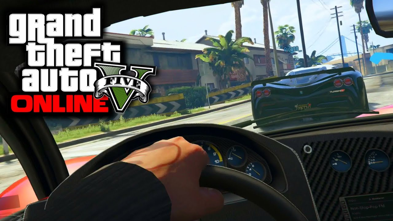 how to go in first person in gta 5