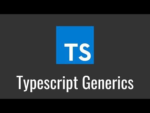 Typescript Generics Tutorial