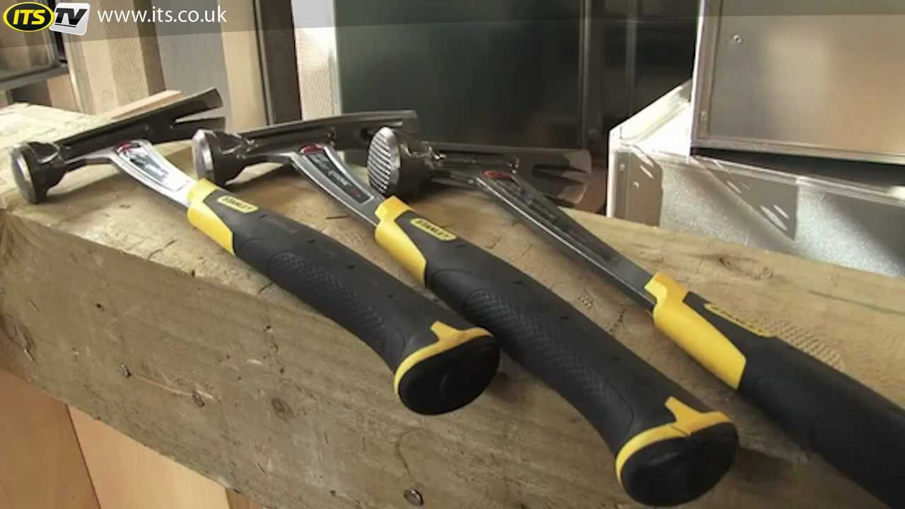 Stanley FatMax Hammer Range - ITS TV - YouTube